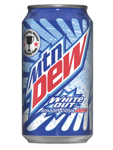 Mountain Dew White Out Soda (12x355ml)