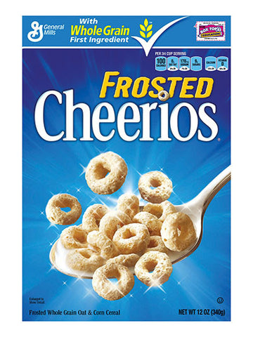 General Mills Cheerios Frosted Cereal