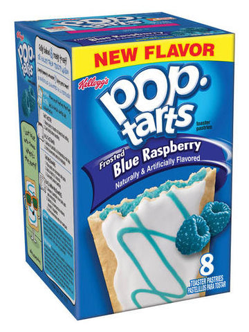 Kellogg's Pop-Tarts Frosted Blue Raspberry