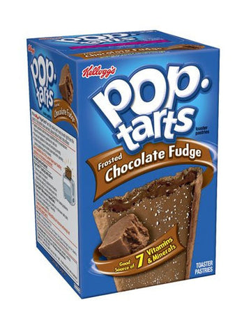 Kellogg's Pop-Tarts Frosted Chocolate Fudge
