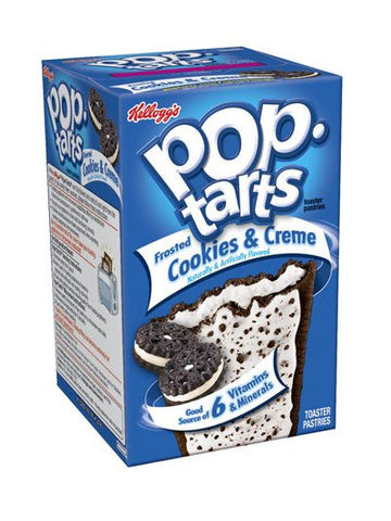 Kellogg's Pop-Tarts Frosted Cookies & Creme Toaster