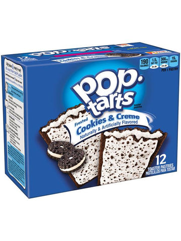 Kellogg's Pop-Tarts Frosted Cookies & Creme