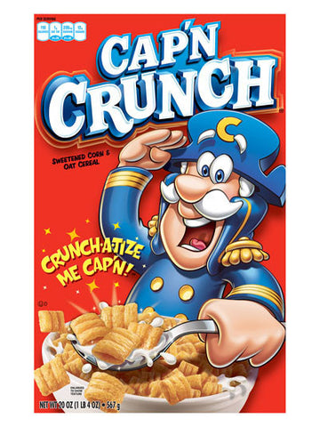 Quaker Cap'n Crunch Original Cereal