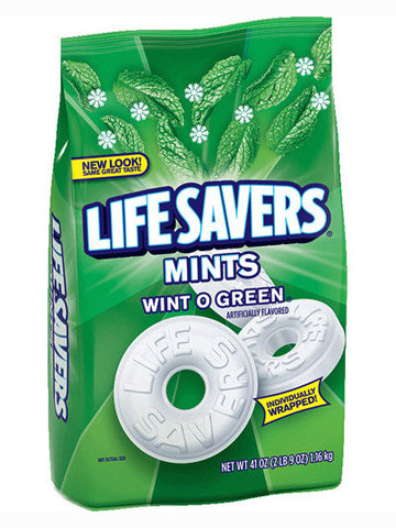 Life Savers Wint-O-Green Mints Candy