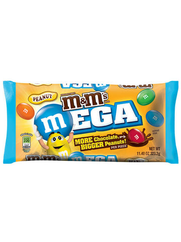 M&M's MEGA Peanut Chocolate Candies