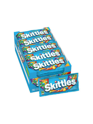 Skittles Tropical Candy (36 x 62g)