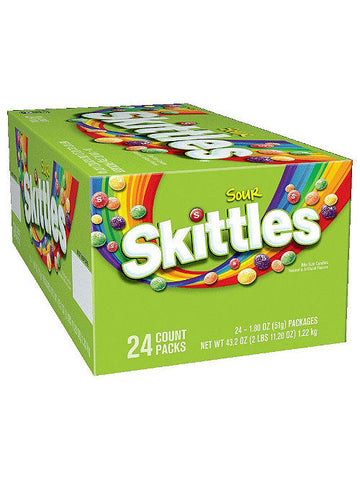Skittles Sours Candy (24 x 51g)