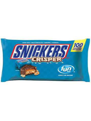 Snickers Crispers Squares