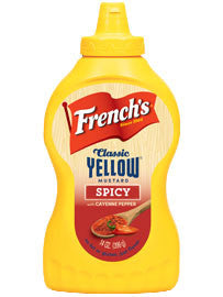 French's Spicy Mustard with Cayenne Pepper