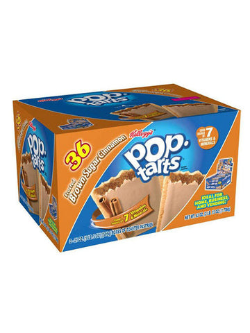 Kellogg's Pop-Tarts Brown Sugar Cinnamon (18 x 2-pack)