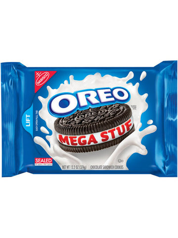 Oreo Mega Stuf Chocolate Sandwich Cookies