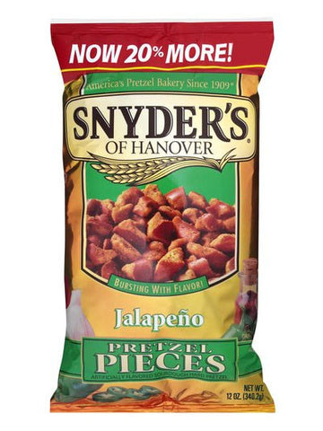 Snyder Of Hanover Jalapeno Pretzel Pieces
