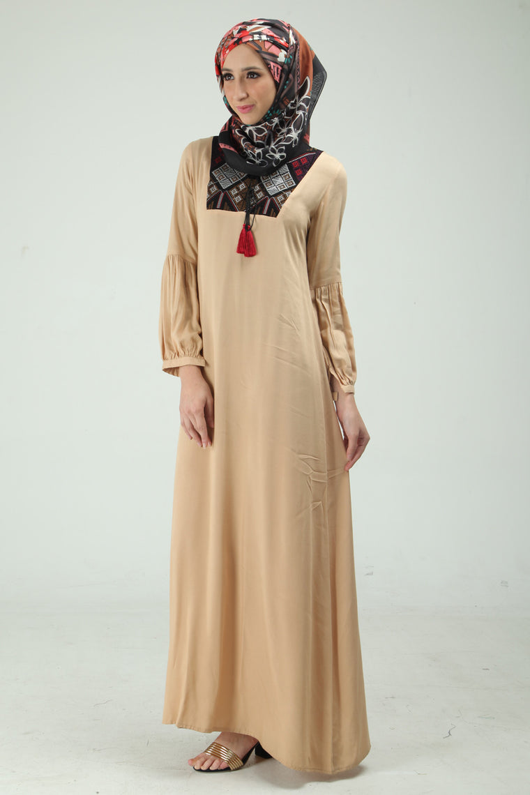 Yumna Empire Dress