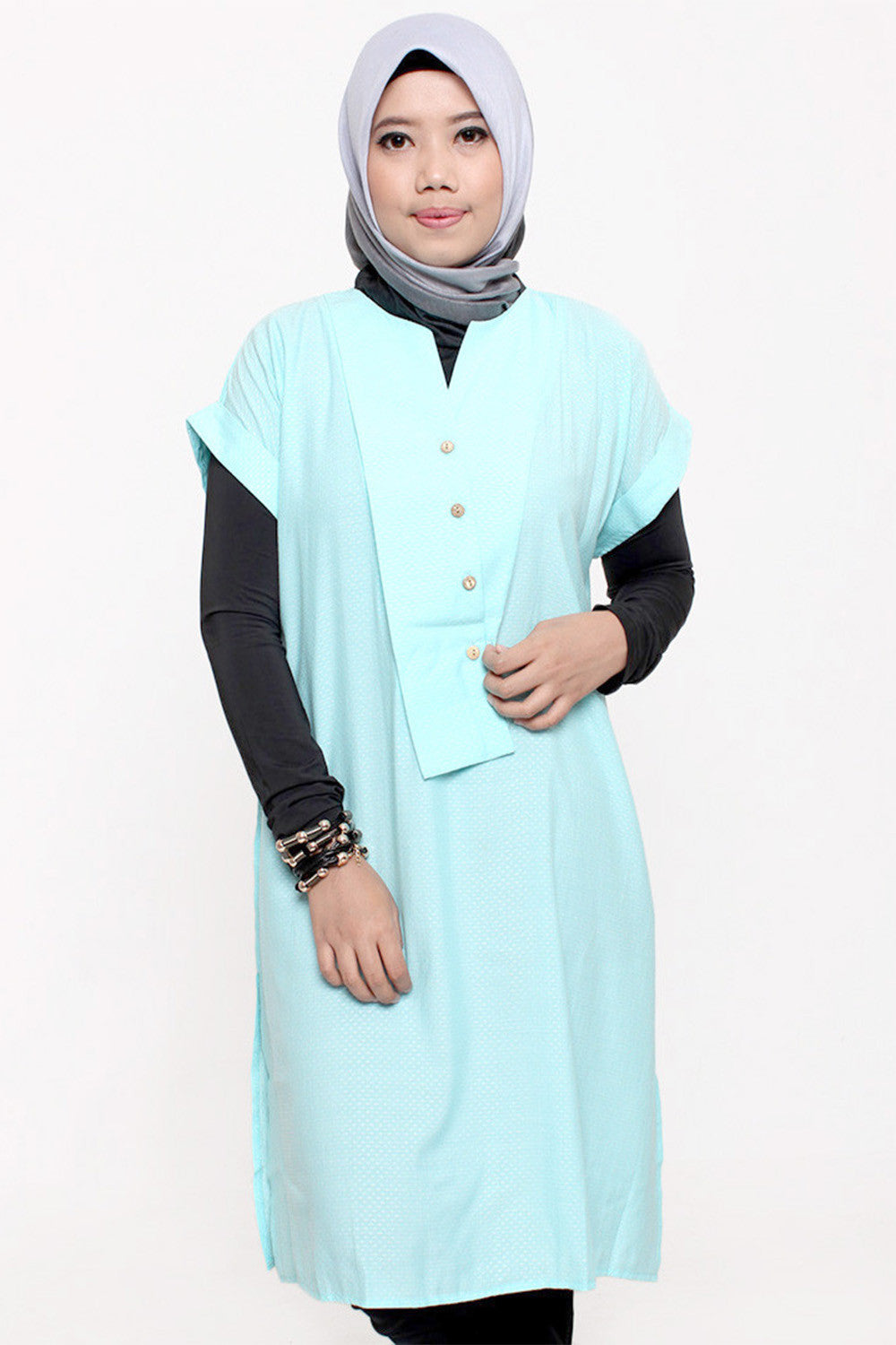 Careen Slevless Tunic