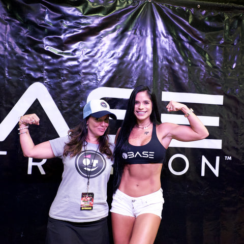 Michelle Lewin with OnTrackGear Crew