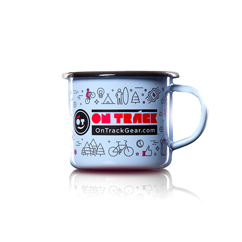 OT Happy Mug Enamelware - OnTrackGear