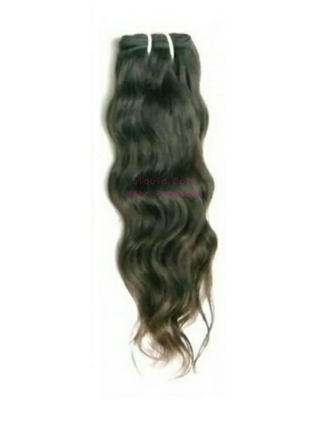 Raw Indian Virgin Wavy Hair Bundle