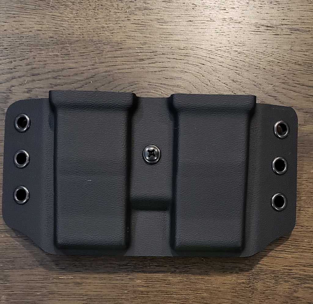 Wyvern STI 9/40 double Mag Carrier in BLACK