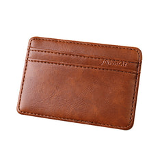 Mens Magic Wallet Credit 5 Id Case Holder