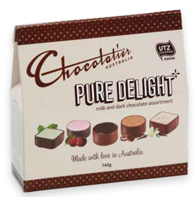 Chocolatier Pure Delight 140gm