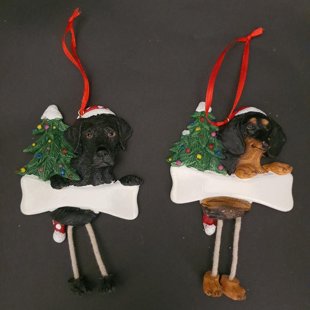 Dog and Cat Christmas Tree Ornaments
