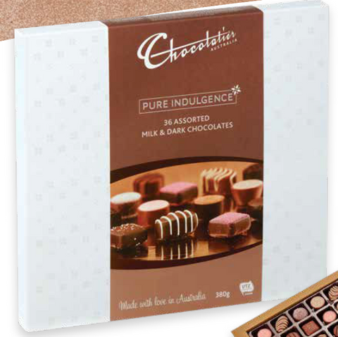 Chocolatier Pure indulgence 380gm