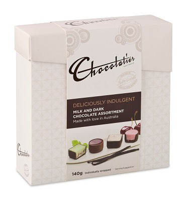 Deliciously Indulgent Milk & Dark Chocolates 140g
