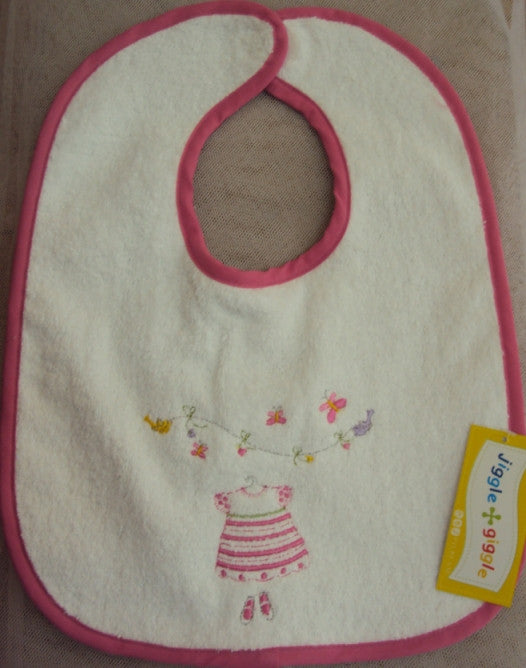 Baby Girls Dress Bib