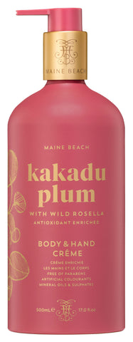 Kakadu Plum Hand and Body Creme 500ml