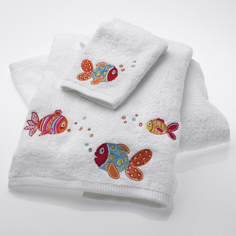 Baby Rainbow Fish Face Washer