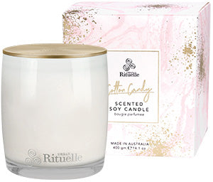 Urban Rituelle - Soy Scented Candle - Cotton Candy