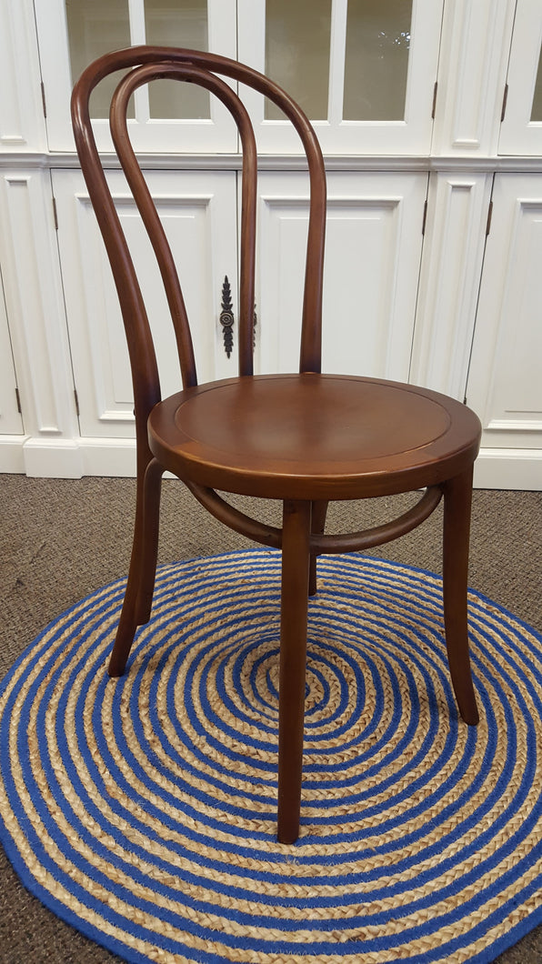 Bentwood dining chair - brown