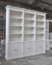 Modular 3 bay bookcase