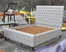 Custom Queen size chesterfield bed