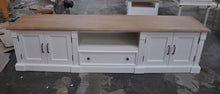 Jackie Antique White TV Unit