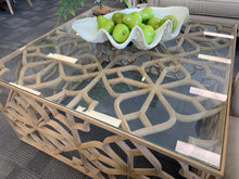 Batik Square Coffee Table