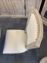Elegant Curved Back Dining Chair