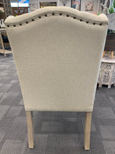 Shine Wing Back Tufted Dining Chair - Beige