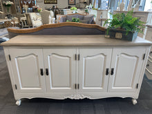 French provincial buffet 4 doors