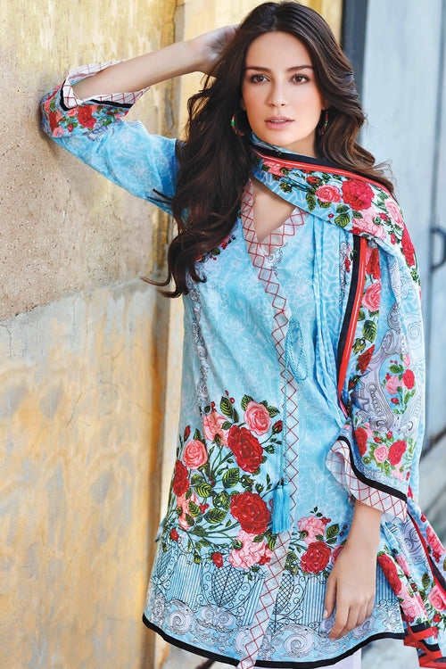 Gul Ahmed Secret Garden, Gul Ahmed | My Desi Shop