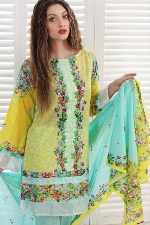 Gul Ahmed Mellow Yellow, Gul Ahmed | My Desi Shop