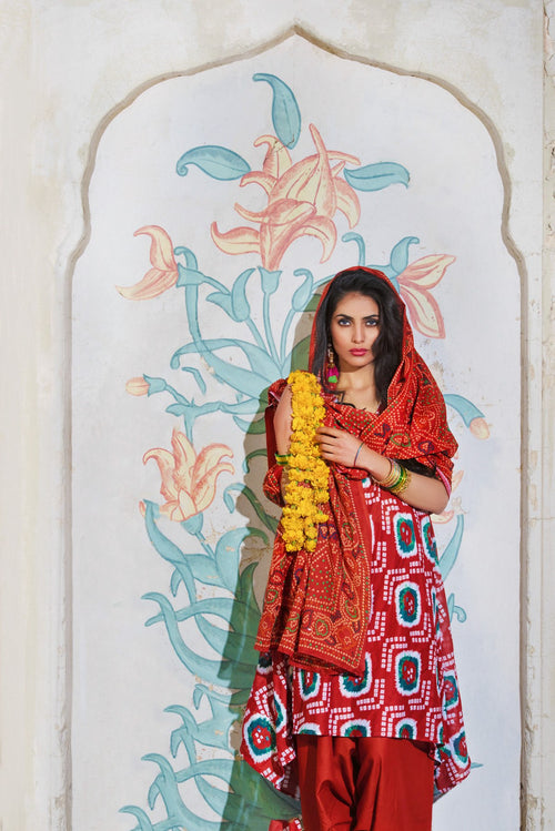 Gul Ahmed Flowy Chunri, Gul Ahmed | My Desi Shop