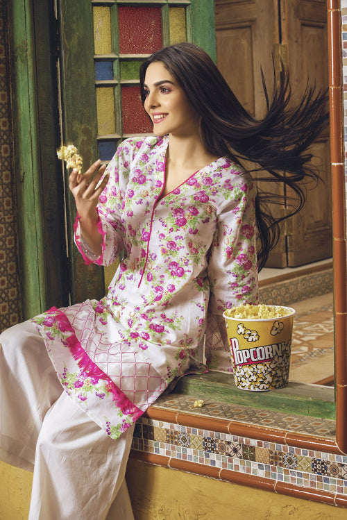 Gul Ahmed Floral Infringement, Gul Ahmed | My Desi Shop