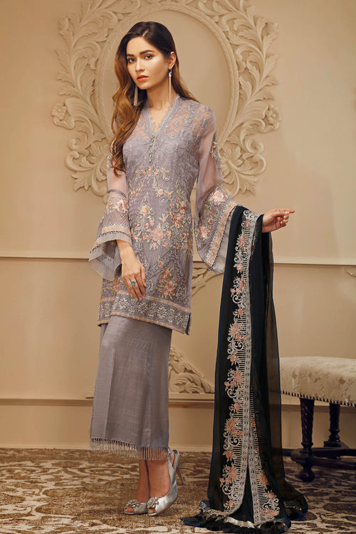 Baroque Chantelle Suit- De Soire | My Desi Shop