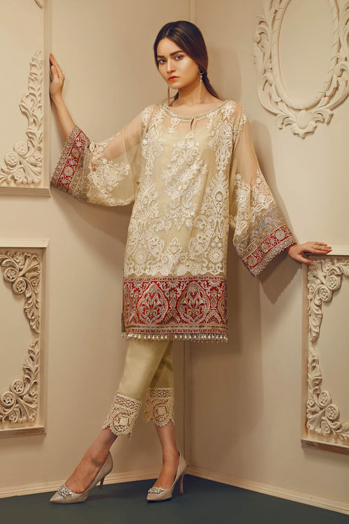 Baroque Chantelle Suit- Aphrodite | My Desi Shop