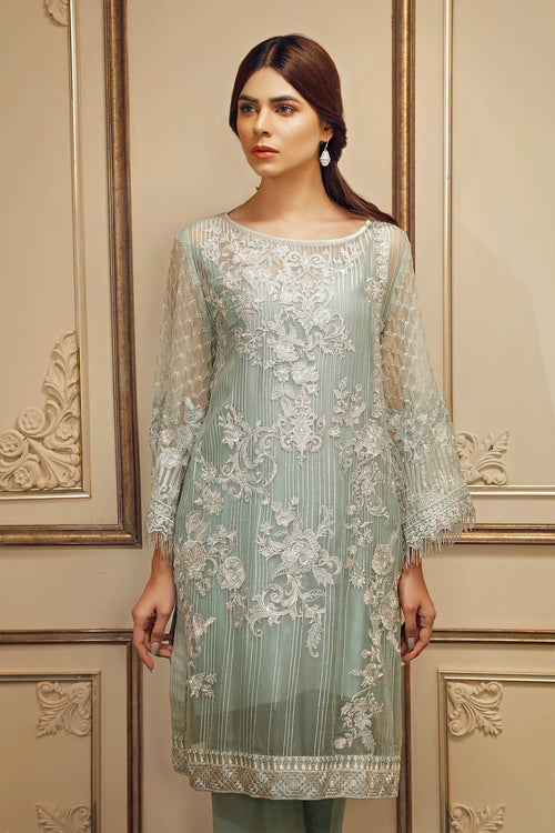 Baroque Chantelle Suit- The Duchess | My Desi Shop