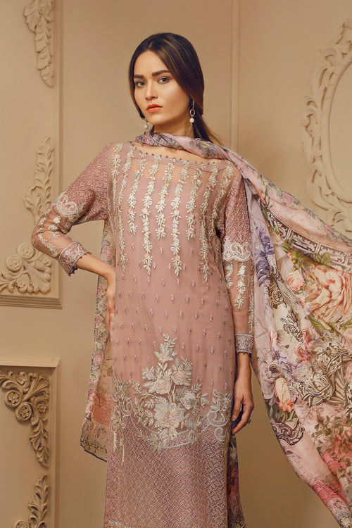 Baroque Chantelle Suit- Madame Dahlia | My Desi Shop