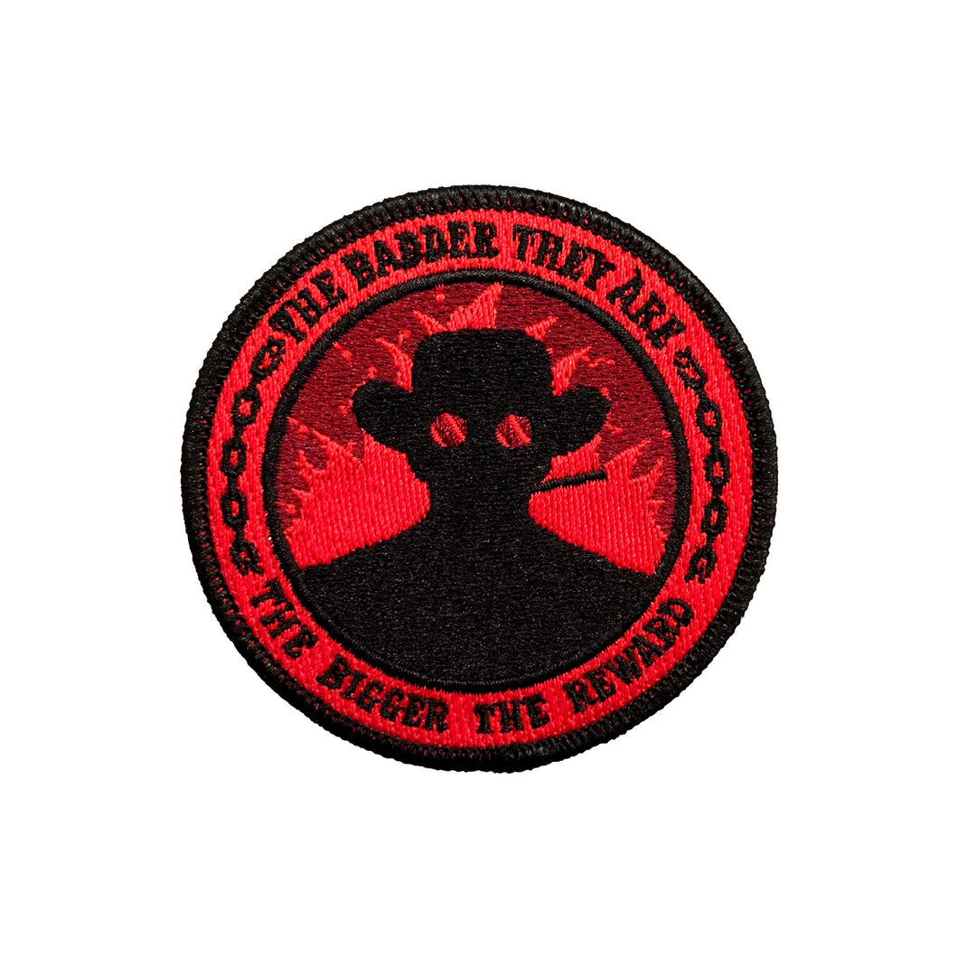 THE BADDER THEY ARE PATCH by URSA MAJOR SUPPLY