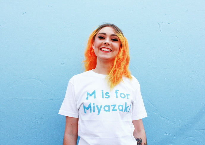 SUPER YAKI x 'LIL CINEPHILE: M IS FOR MIYAZAKI (ADULT SIZES)
