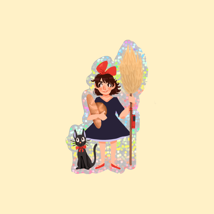 KIKI STICKER by SKYLAR VERDUZCO